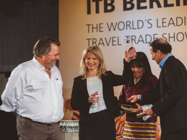 Slovenian Tourist Board received the prestigious National Geographic World Legacy Destination Leadership award