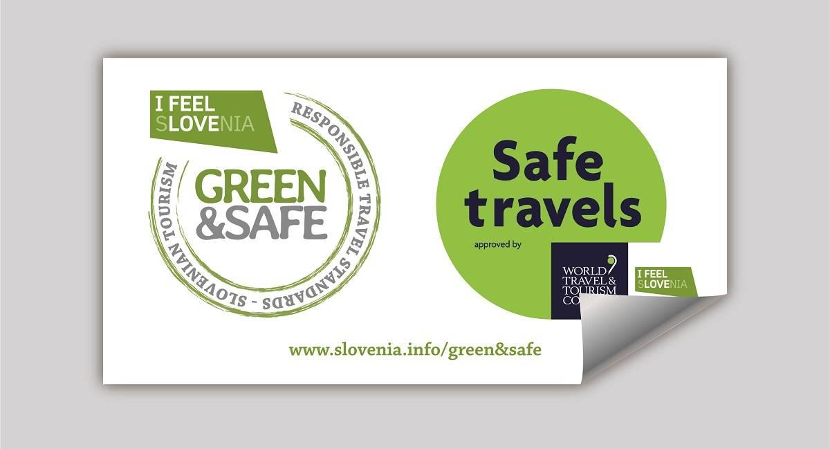 Z registracijo do nalepke in komunikacijskih orodij odgovornih potovalnih standardov Green&Safe