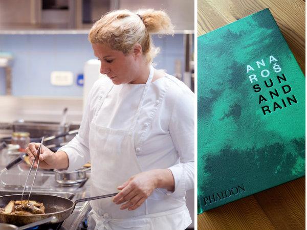 Dež in sonce: monografija kuharske mojstrice Ane Roš