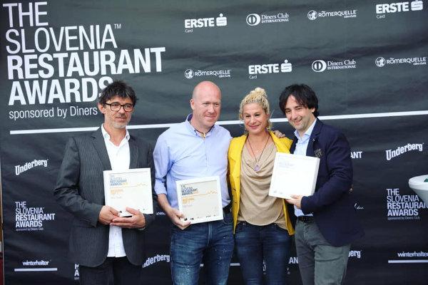 Razglasitev najboljših restavracij v Sloveniji za leto 2019