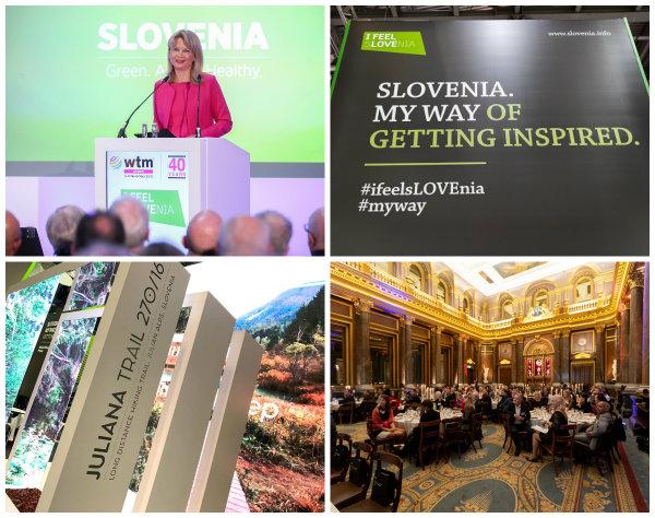 Slovenija se predstavlja na ekskluzivnih dogodkih v okviru  borze WTM London