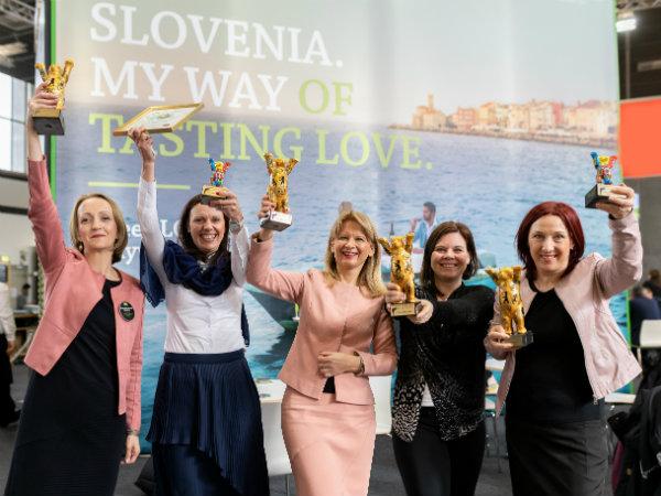 Slovenska turistična organizacija v Berlinu prejela štiri zlate in dve srebrni nagradi za odličnost v multimedijski promociji turizma