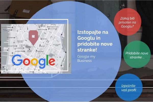 Z video navodili do urejenega profila na Google My Business platformi