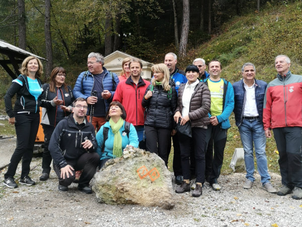 Otvoritev nove daljinske pohodniške poti okoli Julijskih Alp – JULIANA TRAIL
