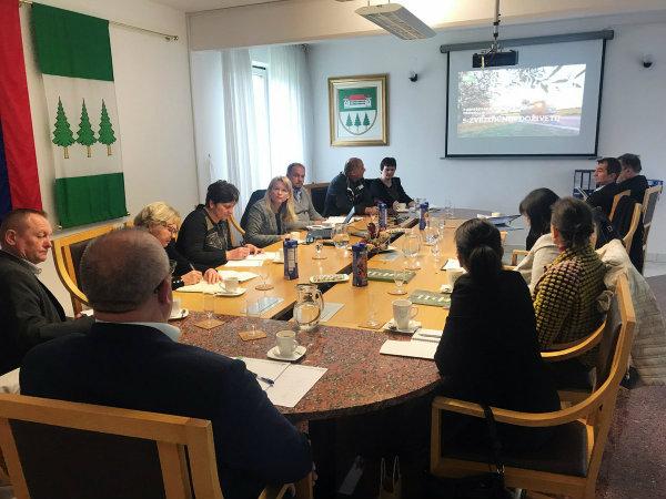 Srečanje županov sedmih občin Zgornje Savinjske doline