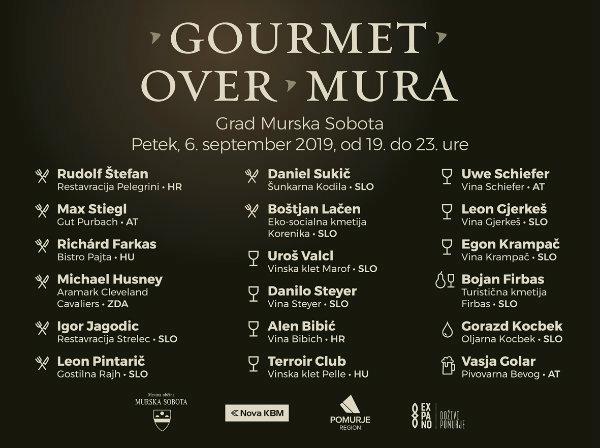 Gastronomija Pomurja se predstavlja na Gourmet over Mura