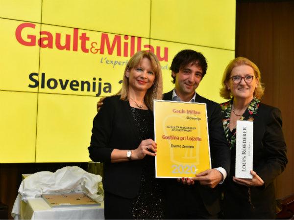 Gault&Millau Slovenija razglasil najboljše za leto 2020