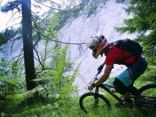 Ljubljana, Slovenija in Alpe so raj za gorske kolesarje