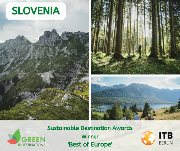Slovenia awarded Best of Europe 2020 in terms of sustainability