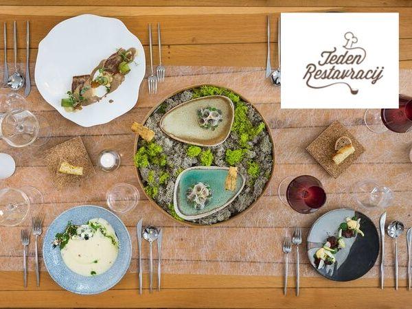 Teden restavracij po novem gastronomsko doživetje tudi za tuje obiskovalce