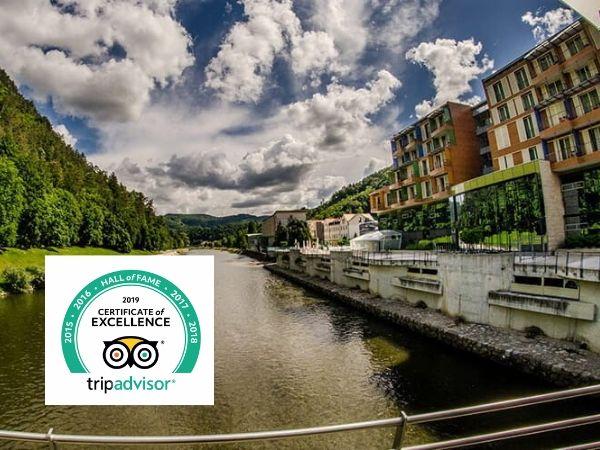 Hotel Thermana Park Laško s priznanjem Tripadvisor Certificate of Excellence