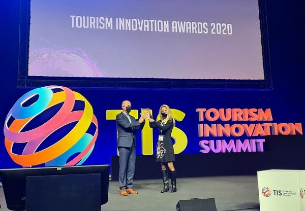 Prestižna nagrada za orodje TIM na področju inovacij v turizmu