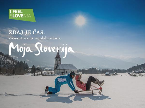 Povabilo k oddaji turističnih ponudb za zimski del kampanje Moja Slovenija