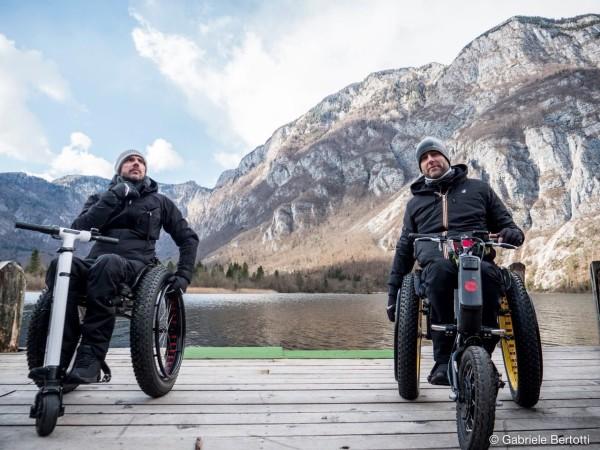 Oddaja o dostopnem turizmu v Sloveniji na italijanskem TV kanalu