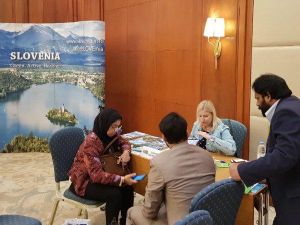 Slovenski turizem na delavnicah na Bližnjem vzhodu